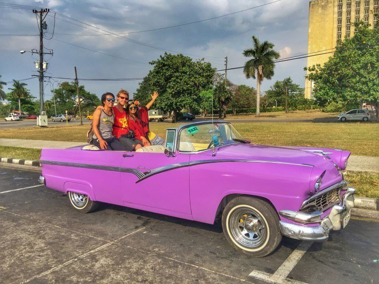 Taxi in Cuba - Cuba Travel Guide