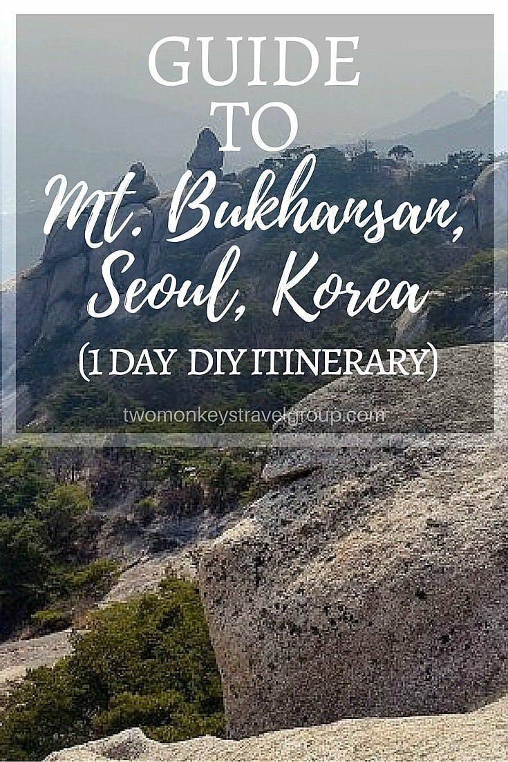 Guide to Mt. Bukhansan, Seoul, Korea