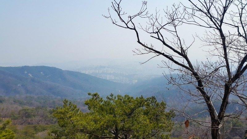Hiking at Mt. Bukhansan