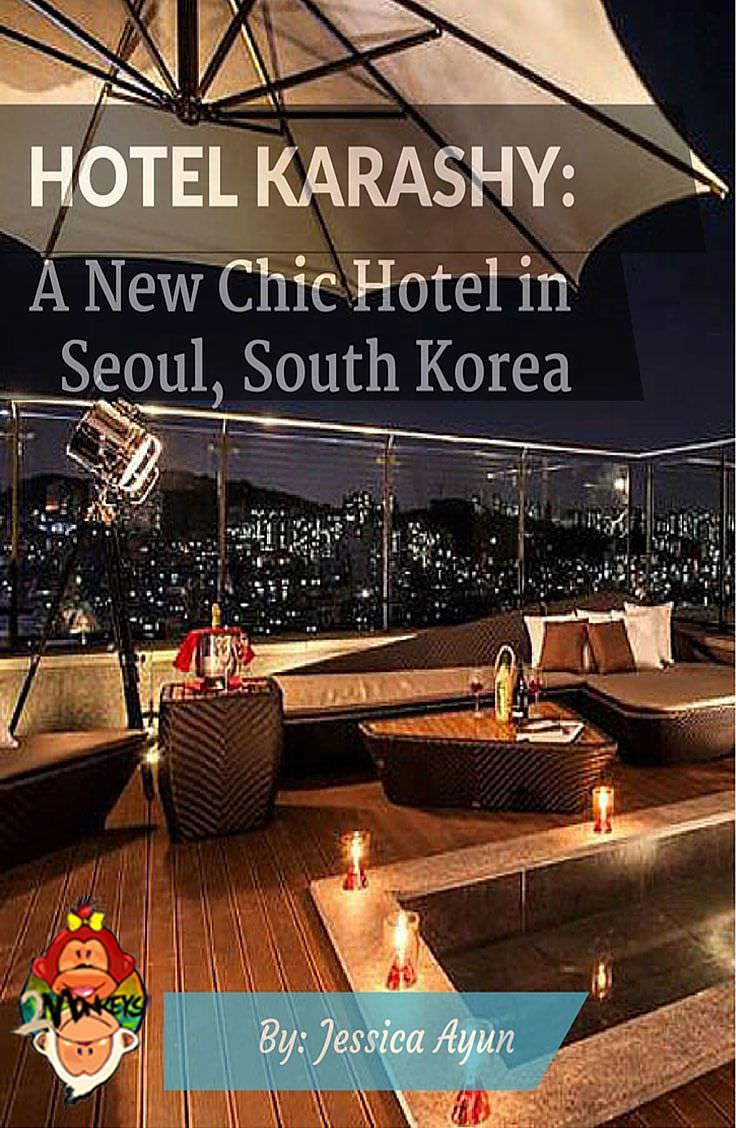 Hotel Karashy A New Chic Hotel in Seoul, South Korea Pinterest
