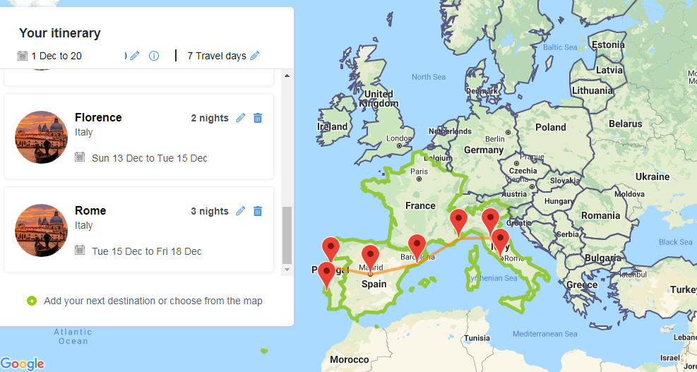 How to plant the Perfect Eurail or Interrail Trip in Europe 02
