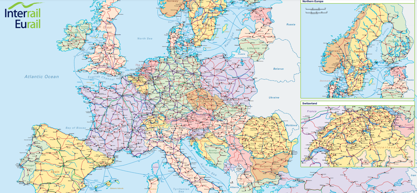 How to plant the Perfect Eurail or Interrail Trip in Europe 04