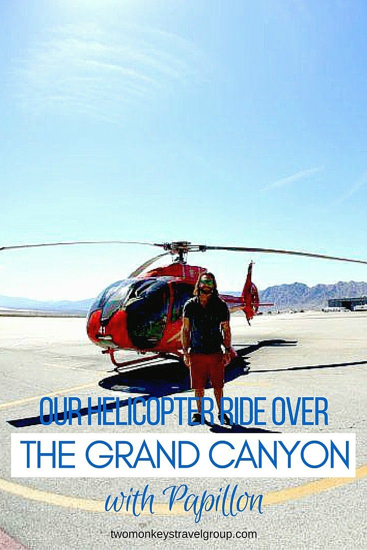 Our Helicopter Ride over the Grand Canyon with Papillon