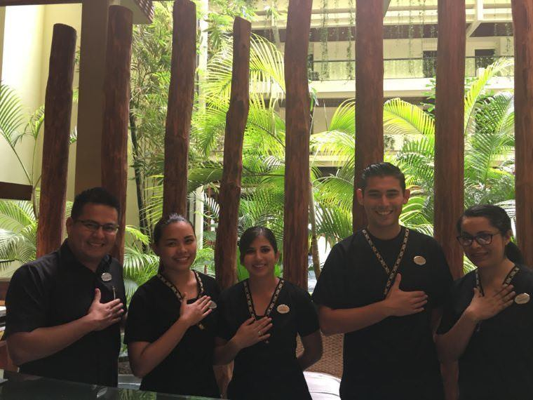 SPA staff - Paradisus Cancun - All Inclusive Luxury Resort Experience