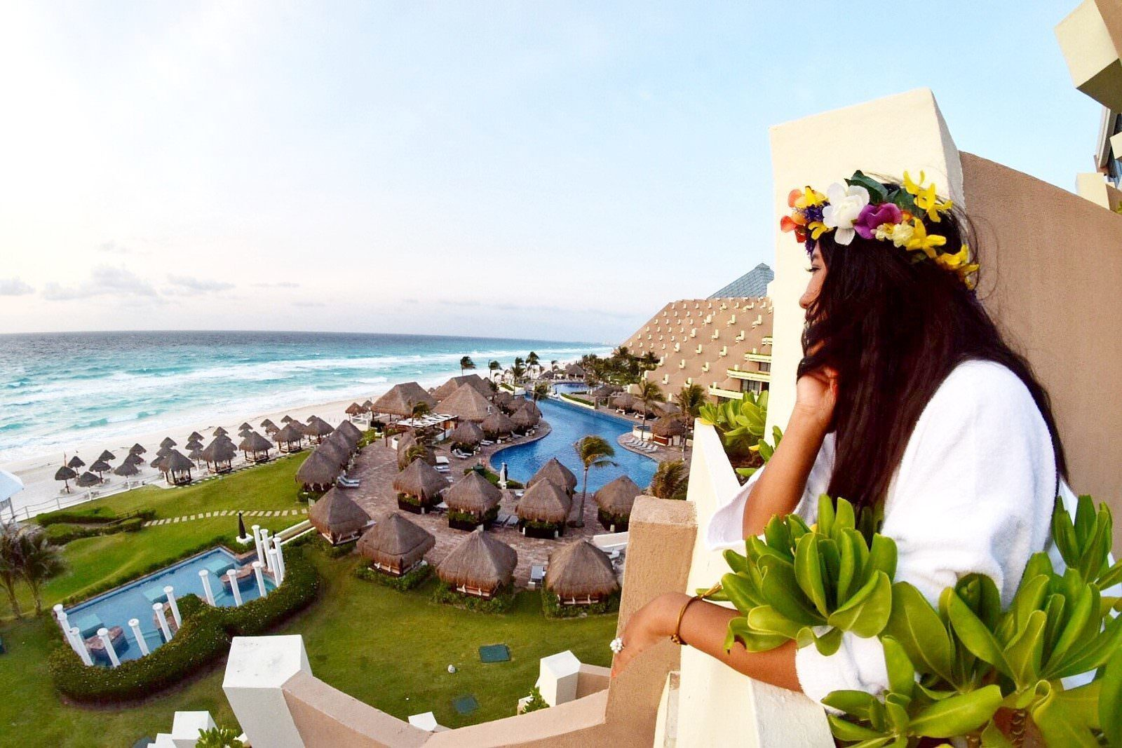 View from our Room in Paradisus Cancun - All Inclusive Luxury Resort Experience