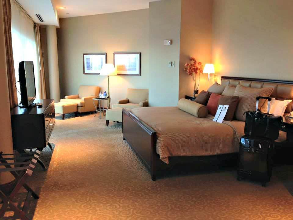 Hotel Review Vip Room Sheraton Hotel Atlantic City