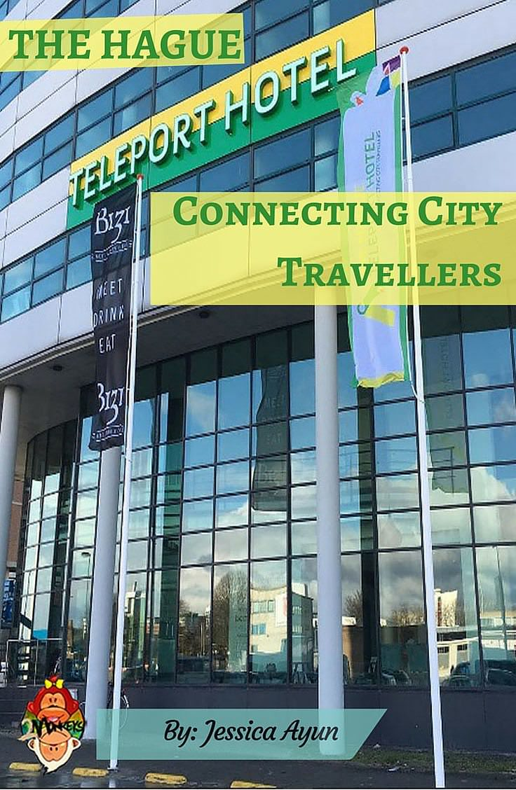 THE HAGUE TELEPORT HOTEL Connecting City Travellers Pinterest