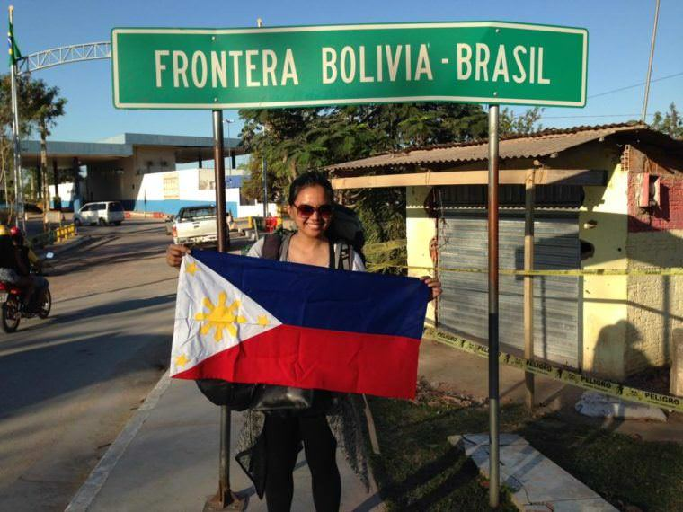 Crossing Border South America - Bolivia Brazil