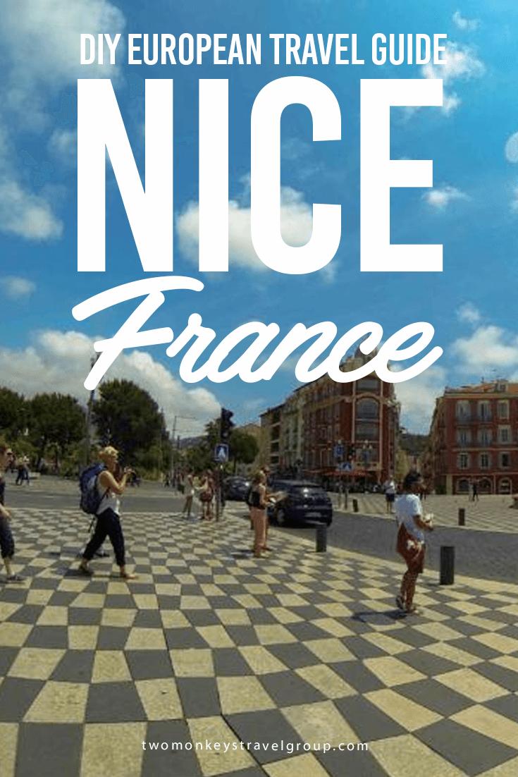 DIY European Travel Guide: Nice, France