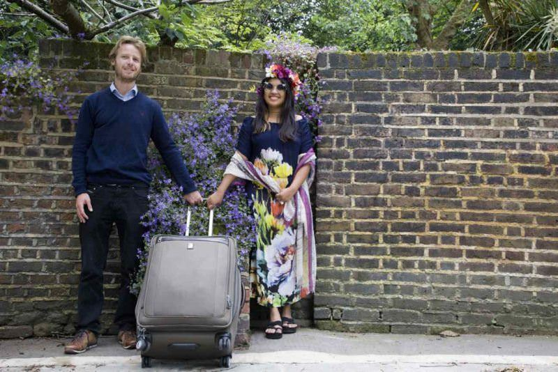 Kach and Jonathan - Pictrip pictorial in London