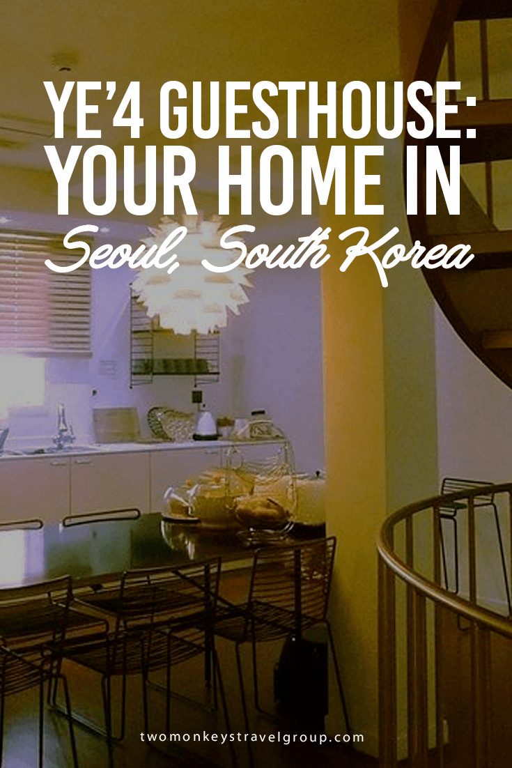 YE'4 GUESTHOUSE: Your Home in Seoul, South Korea