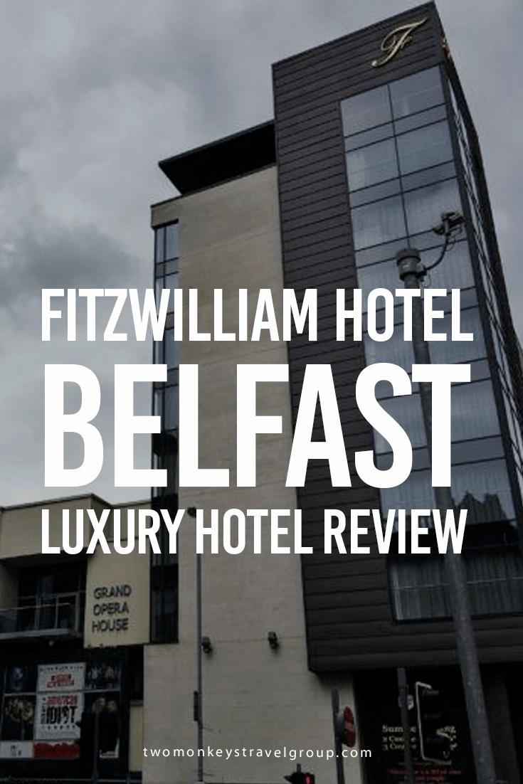 Fitzwilliam Hotel Belfast- Luxury Hotel Review