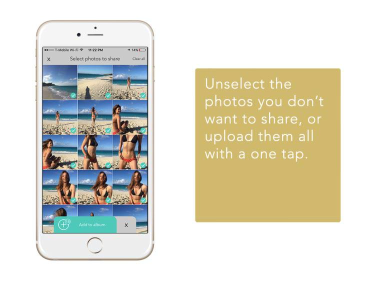Givme App - Private Group Photo Sharing Album