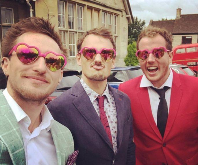 Jonny Williams and our UK Wedding