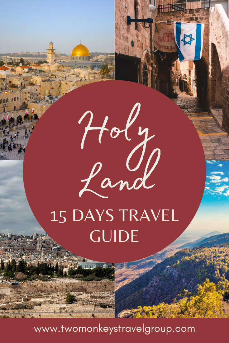 Our 15 Days Itinerary in the Holy Land The Israel You Didn't Know Exists with Puzzle Israel2