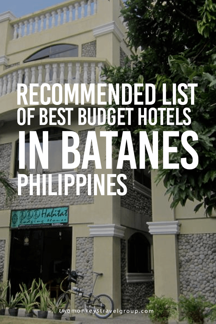 Recommended List of Best Budget Hotels in Batanes, Philippines