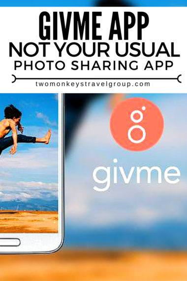 givme app – Not your usual Photo Sharing app