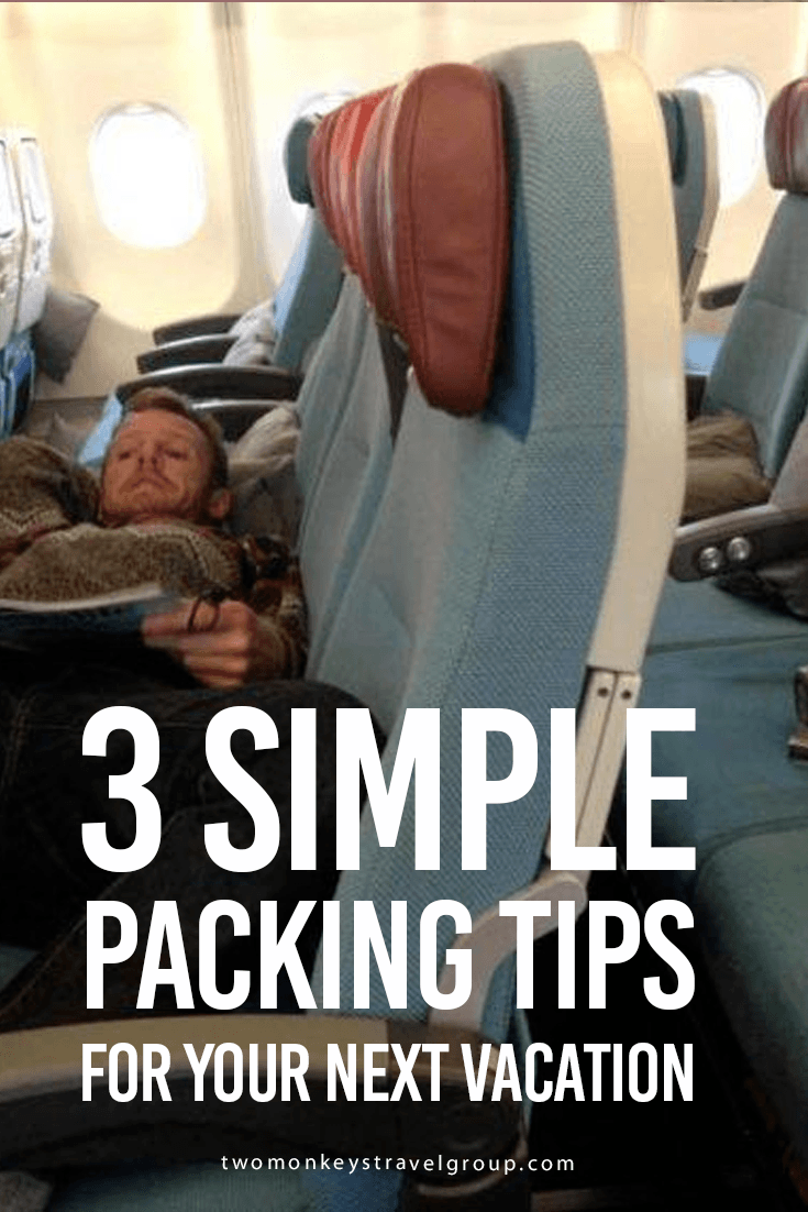 3 Simple Packing Tips for Your Next Vacation