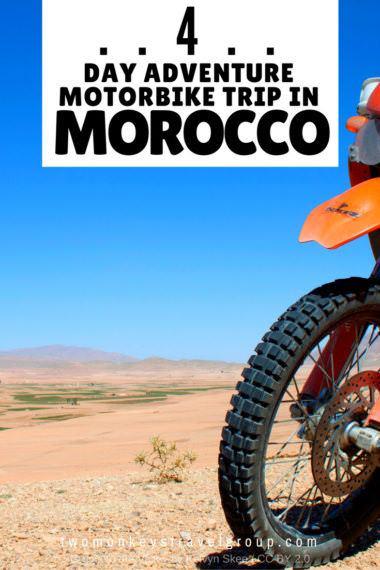 4 Day Adventure Motorbike Trip in Morocco
