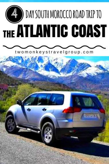 4 Day South Morocco Road Trip to the Atlantic Coast