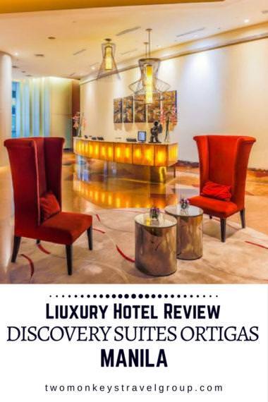 Discovery Suites Ortigas Metro Manila Luxury Hotel Review