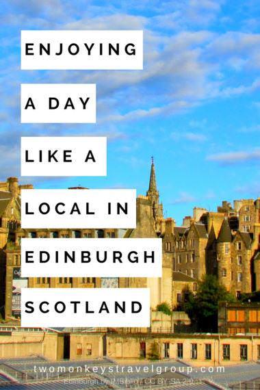 Enjoying a Day Like a Local in Edinburgh Scotland