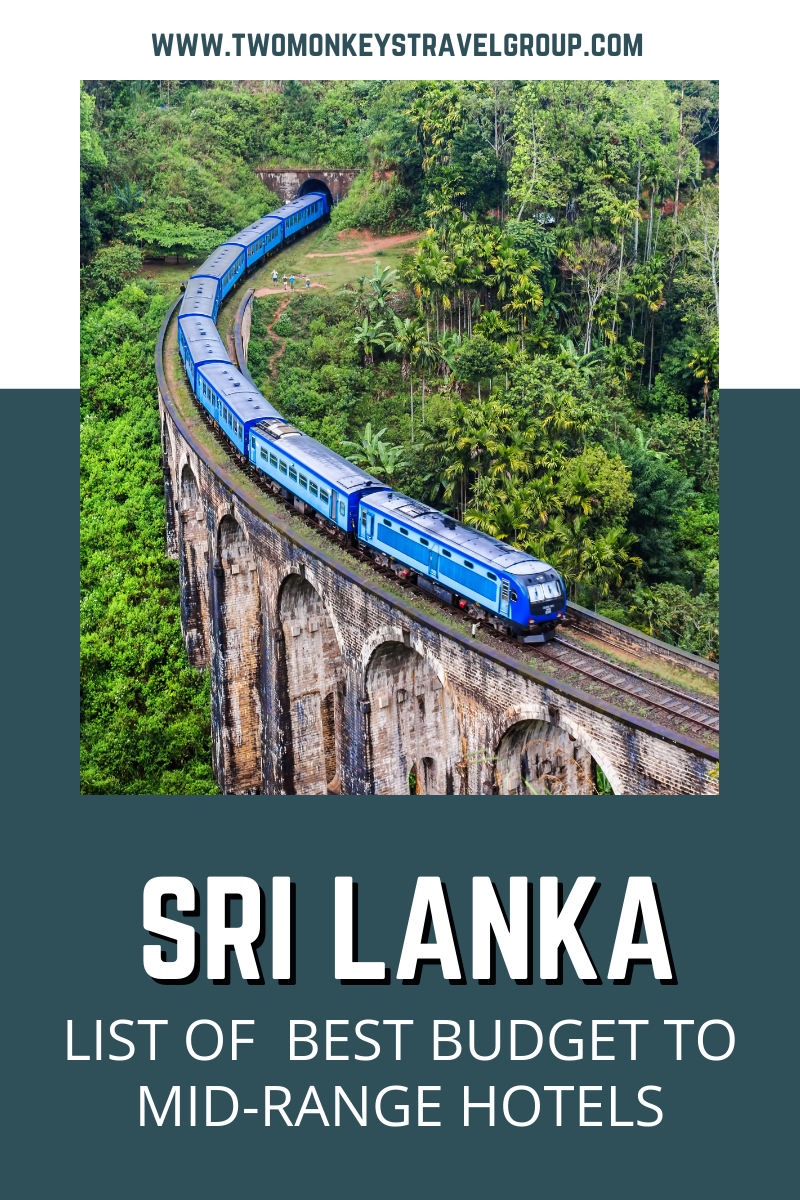 List of the Best Budget to Mid Range Hotels in Sri Lanka