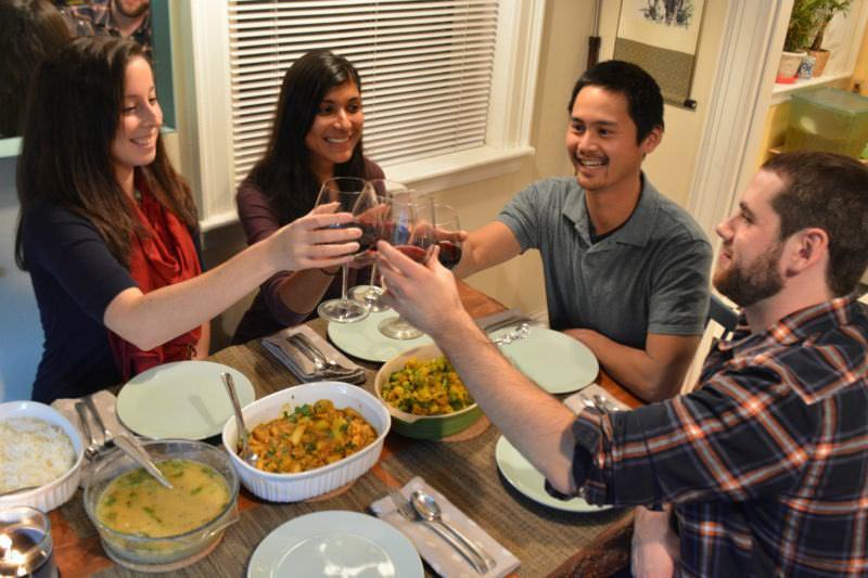 TalkTalkBnB Dinner with Host Family