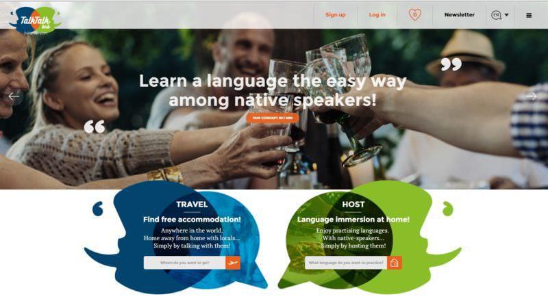 TalkTalkBnB Homepage