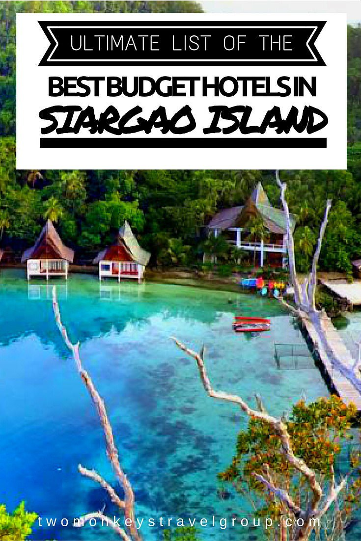 Ultimate List of The Best Budget Hotels in Siargao Island