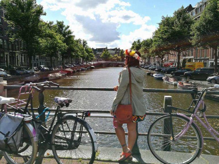 Walking Around Amsterdam Canal