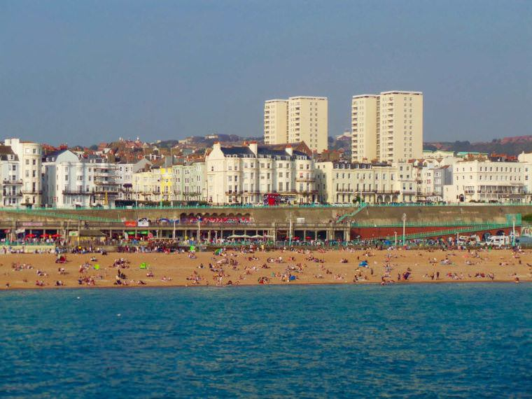You can visit me anytime in Brighton