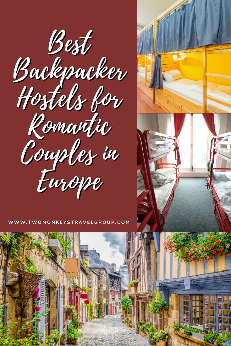 21 Best Backpacker Hostels for Romantic Couples in Europe2