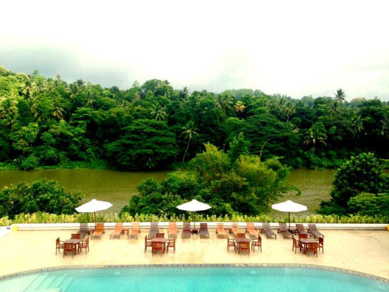 Cinnamon Citadel Kandy, Sri lanka - Pool & River View