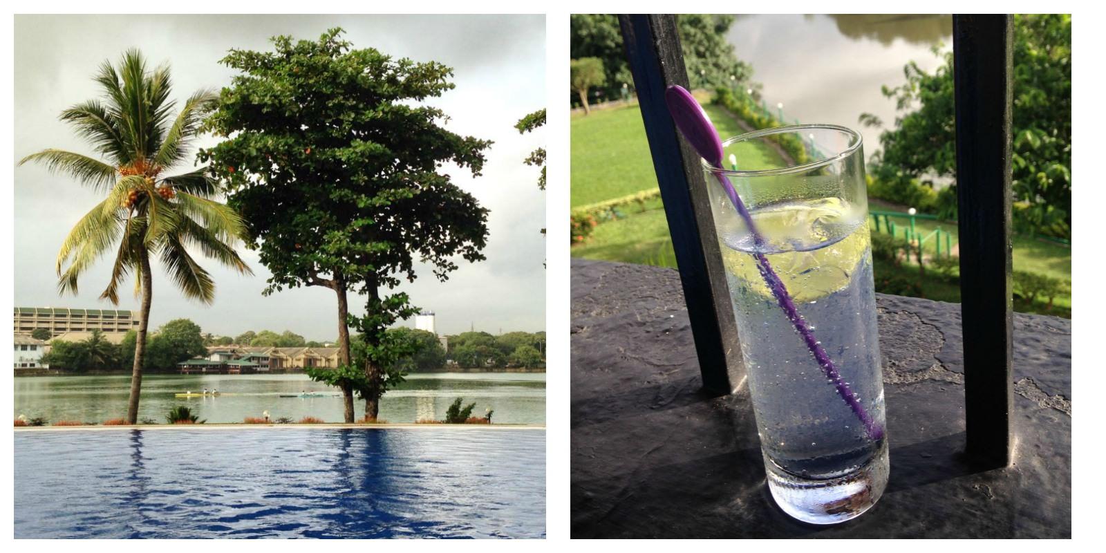 Cinnamon Lakeside Colombo, Sri Lanka - Pool & Lake View