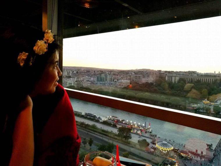 Honeymoon in Paris - Dinner at 58 Tour Eiffel Restaurant