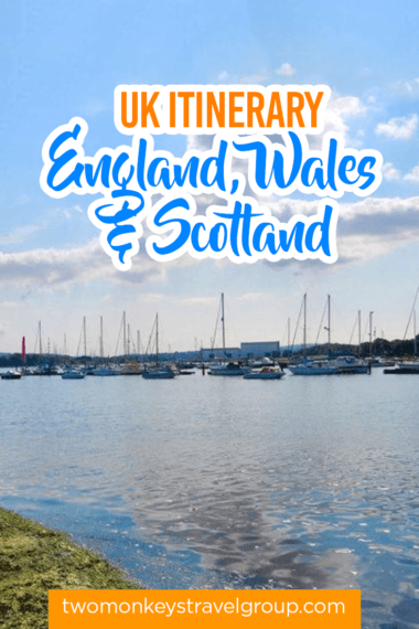 UK Itinerary - England, Wales & Scotland1
