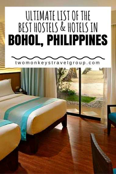 Ultimate List of the Best Hostels & Hotels in Bohol, Philippines