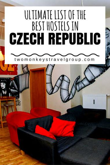 Ultimate List of the Best Hostels in Czech Republic