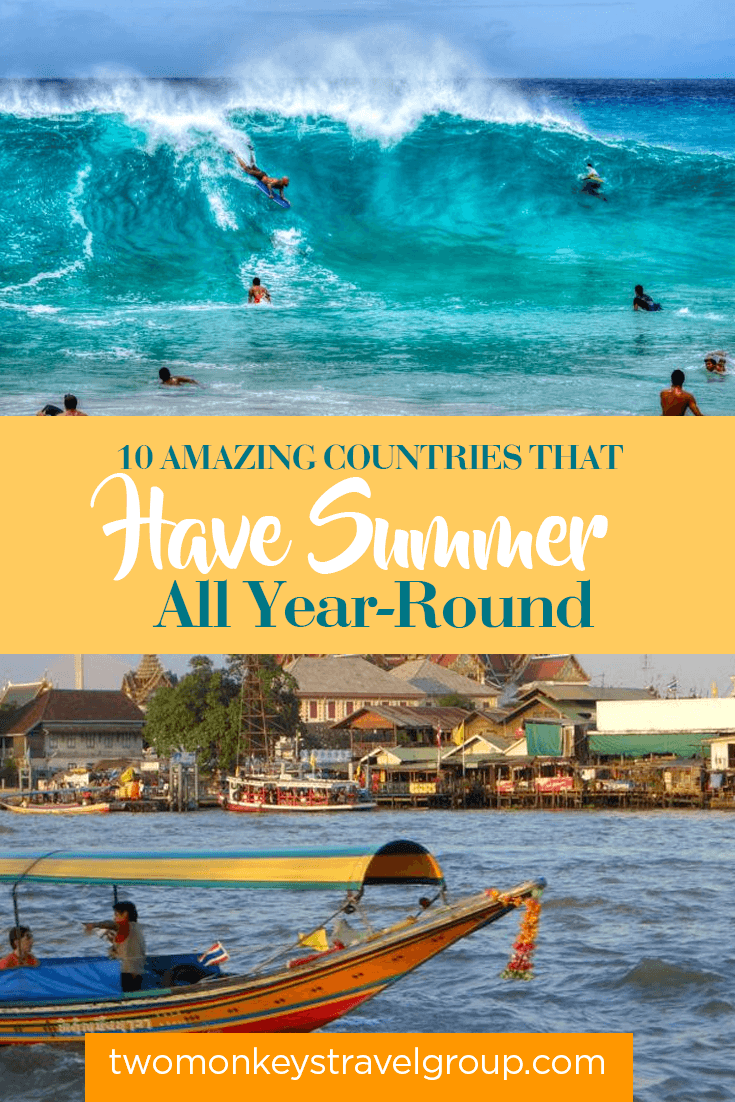 10 Amazing Countries That Have Summer All Year-Round