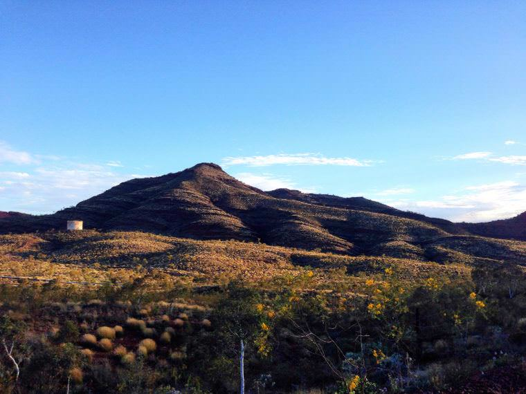 Mountain in Pilbara, Western Australia
