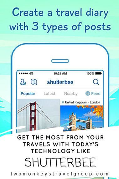 Get the Most from your Travels with Today's Technology like Shutterbee