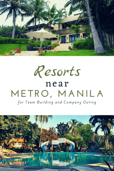 Pinterest resorts near metro manila team building company outings