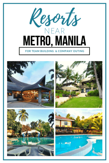 Pinterest1 resorts near metro manila team building company outings