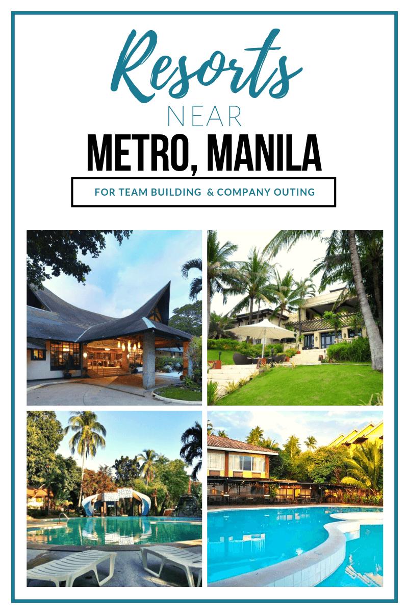 Pinterest1 resorts near metro manila team building company outings