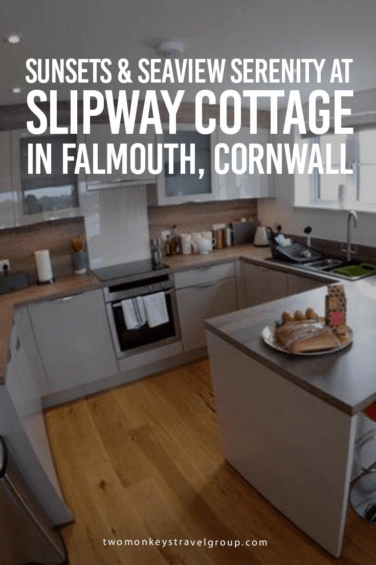Sunsets & Seaview Serenity at Slipway Cottage in Falmouth, Cornwall