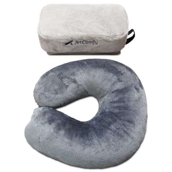 JetComfy Travel Pillow Is This The Best Travel Pillow In The World - 9 cool diy neck pillows for traveling or just relaxation