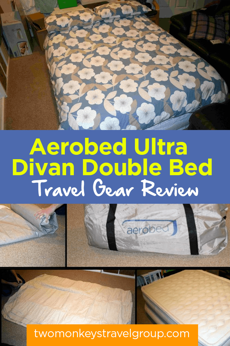 Aerobed Ultra Divan Double Bed- Travel Gear Review