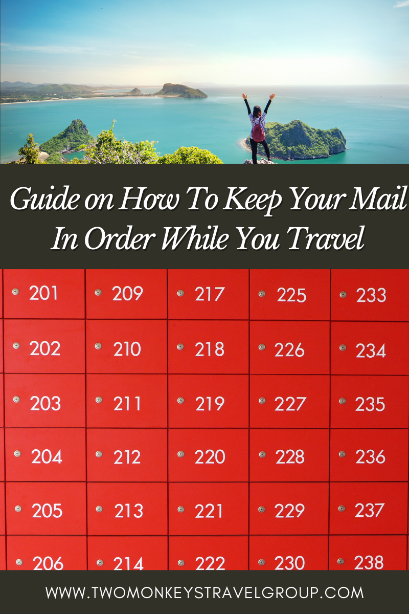 How To Keep Your Mail In Order While You Travel w PO BOX Zone @poboxzone Virtual address and mail forwarding service