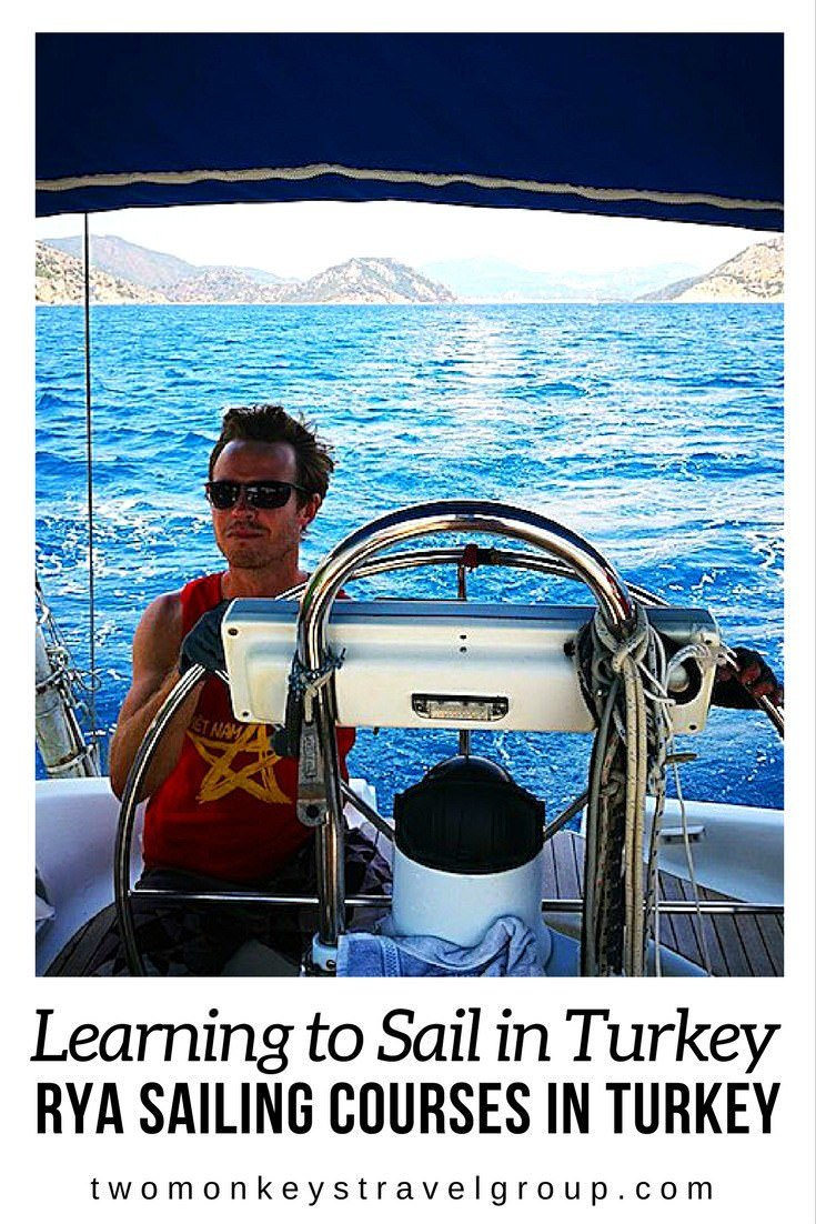 Learning to Sail in Turkey - RYA Sailing Courses in Turkey